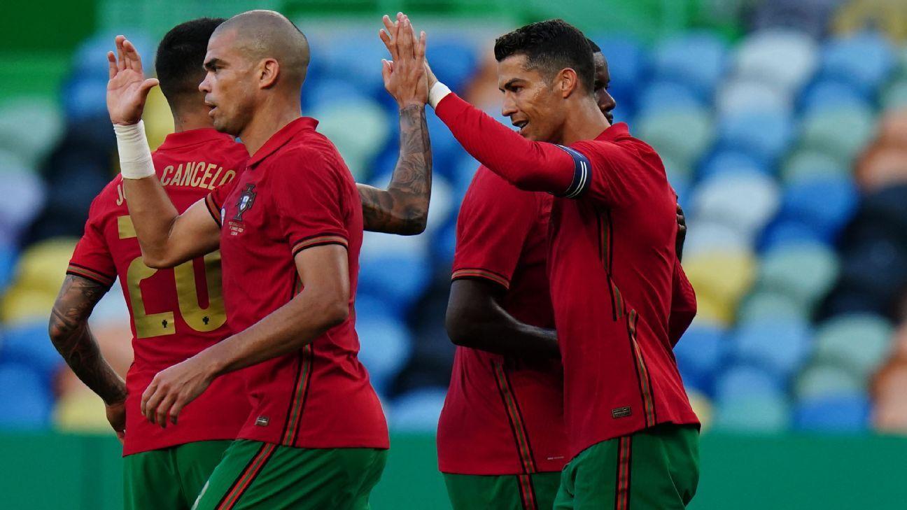 Portugal vs. Israel - Football Match Summary - June 10, 2021 - ESPN