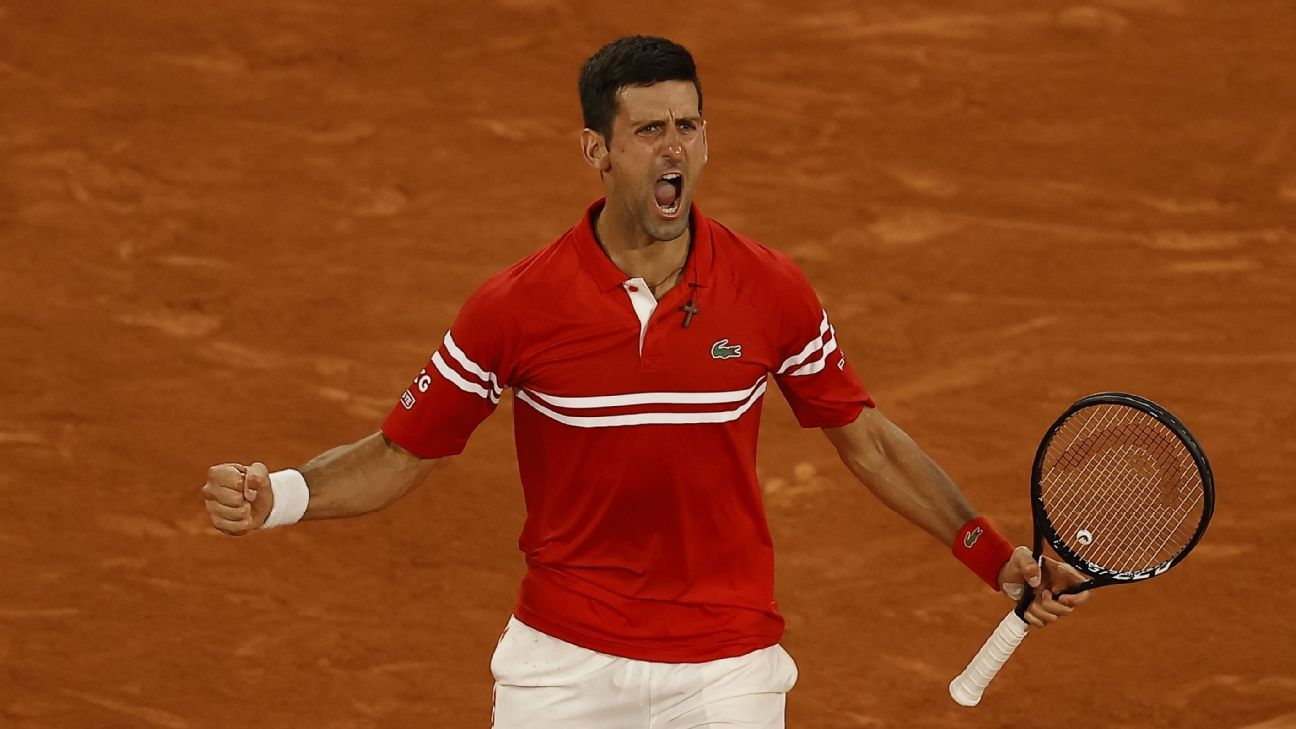 Novak Djokovic outlasts Rafael Nadal the king of clay French Open semifinals – ESPN