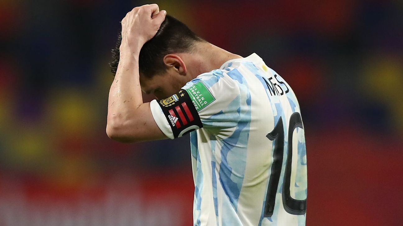 Argentina's Lionel Messi confesses to worrying about contracting COVID-19