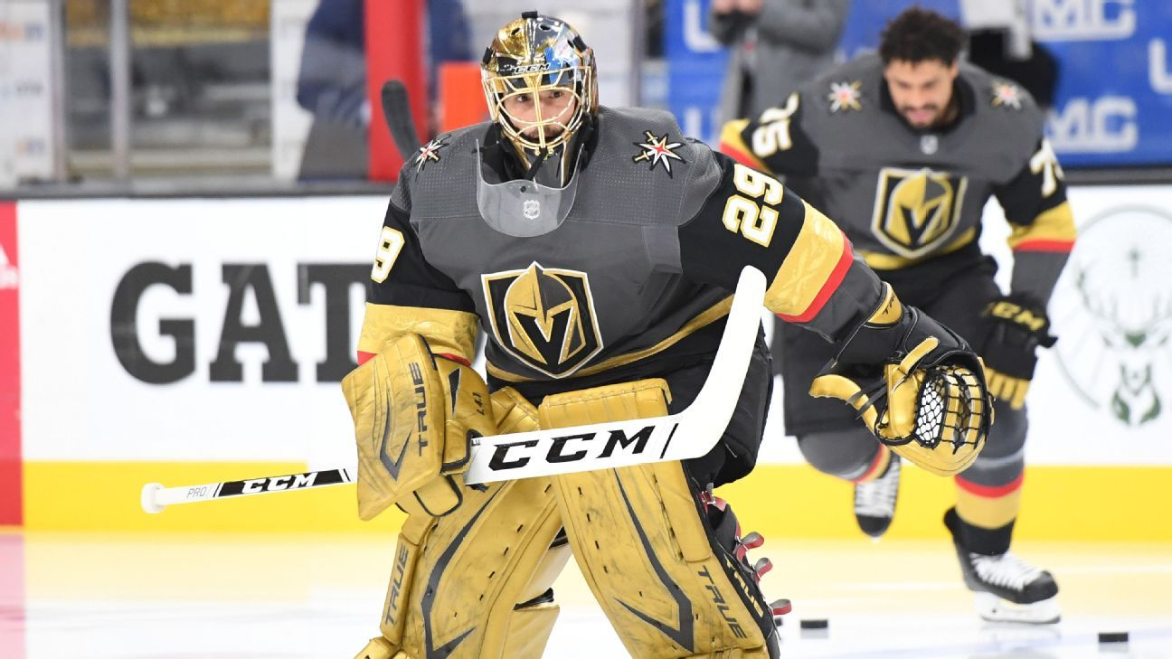 Source: Fleury agrees to play for Blackhawks