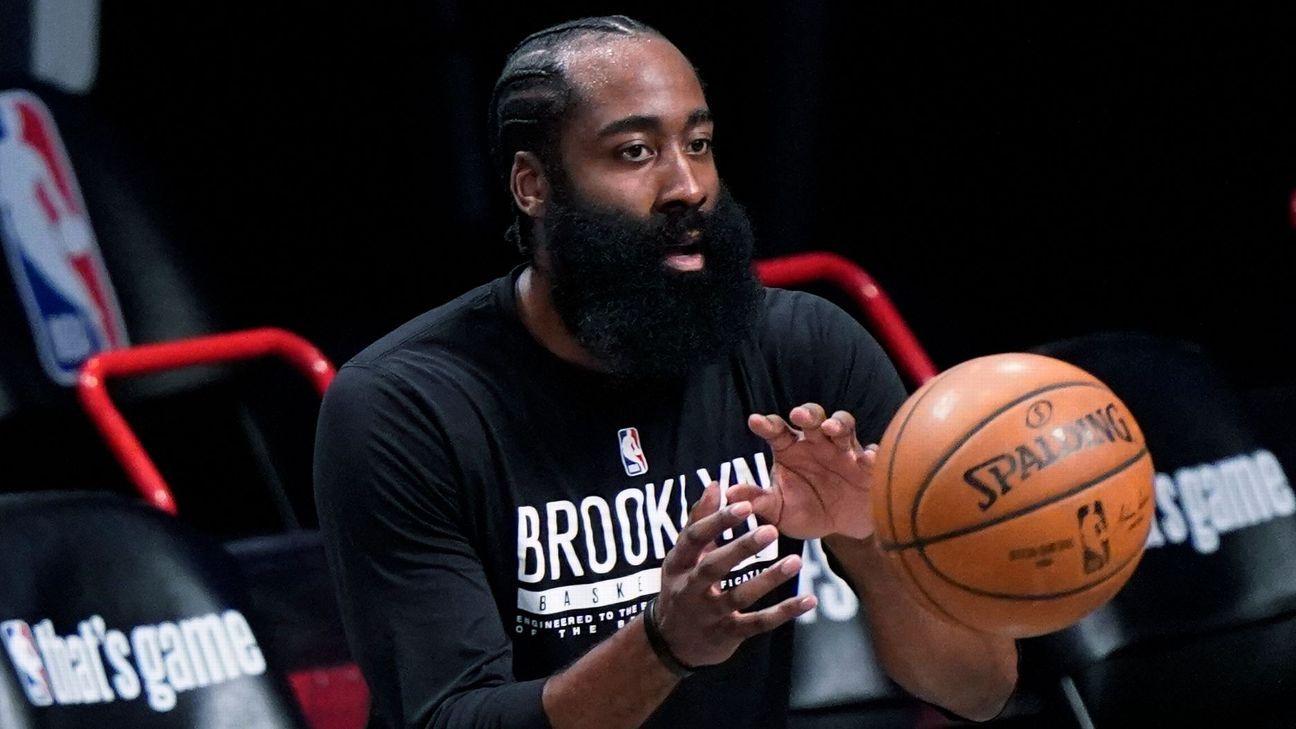 Brooklyn Nets' James Harden (hamstring) back in action for Game 5 vs. Milwaukee Bucks – ESPN