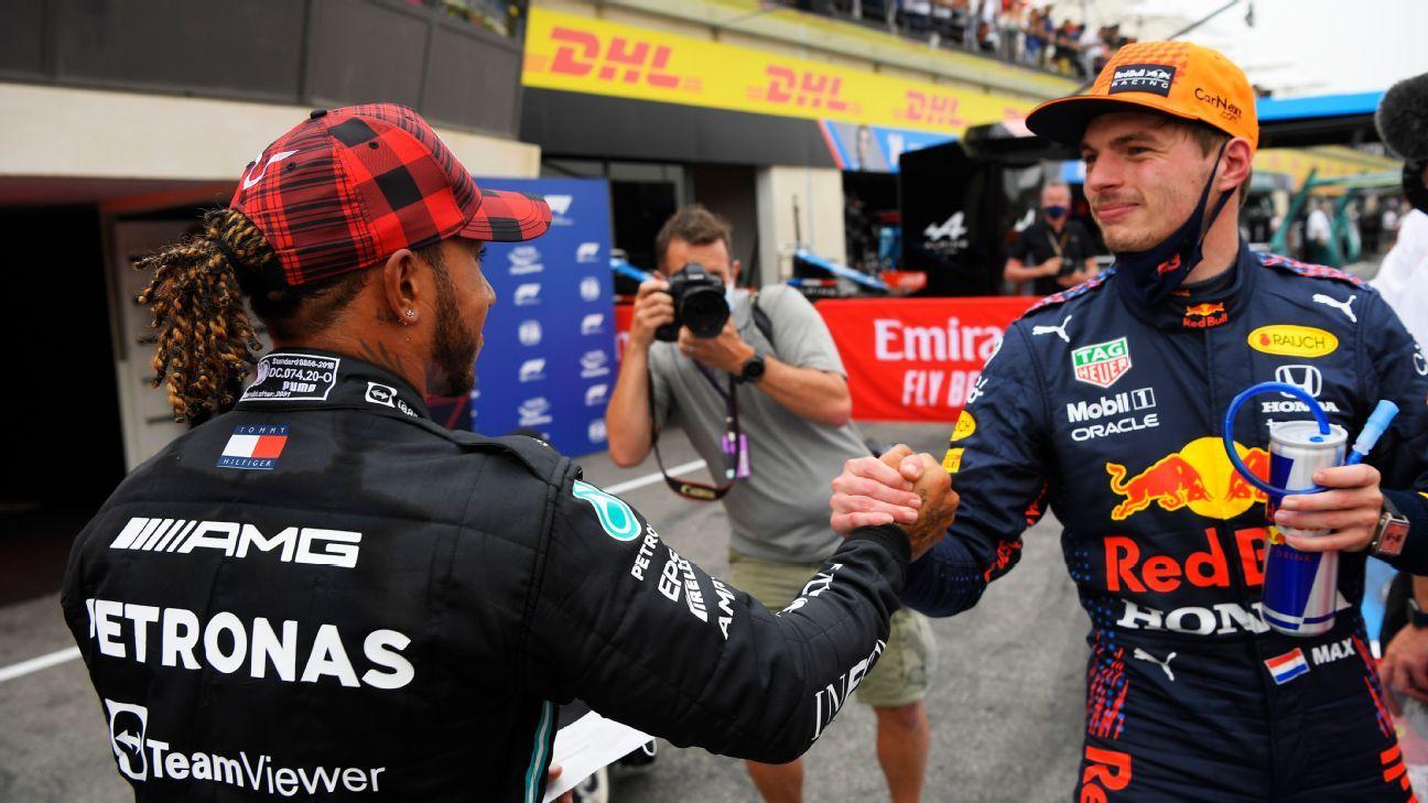 Verstappen, Hamilton battle on knife edge again in France