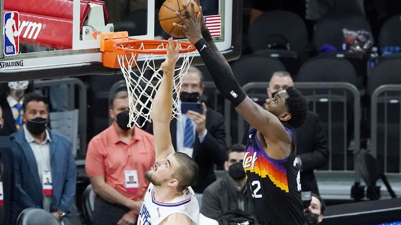 NBA playoffs 2021 – Why Deandre Ayton was the right No. 1 pick for the Phoenix Suns – ESPN