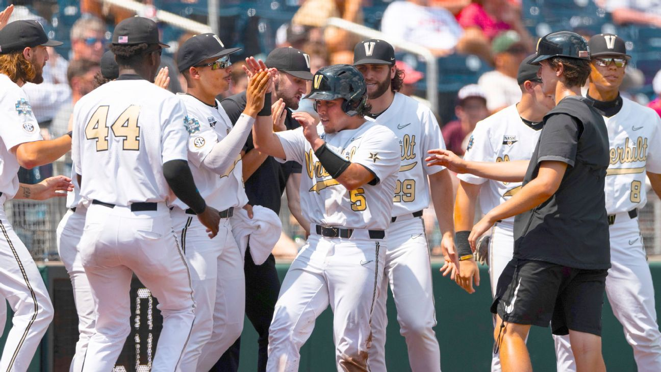 NC State out of College World Series due to COVID-19 issues; Vanderbilt to finals