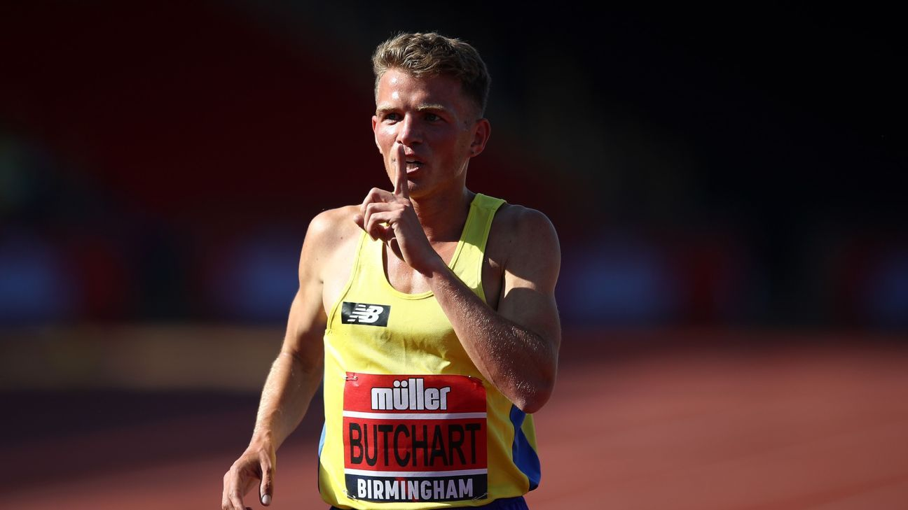 UK Athletics investigate Team GB's Andy Butchart over fake COVID-19 test claim
