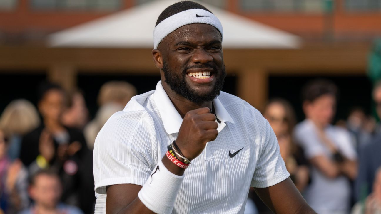 'It's wide open': Frances Tiafoe upset a top seed, took care of business and cleared a path thumbnail
