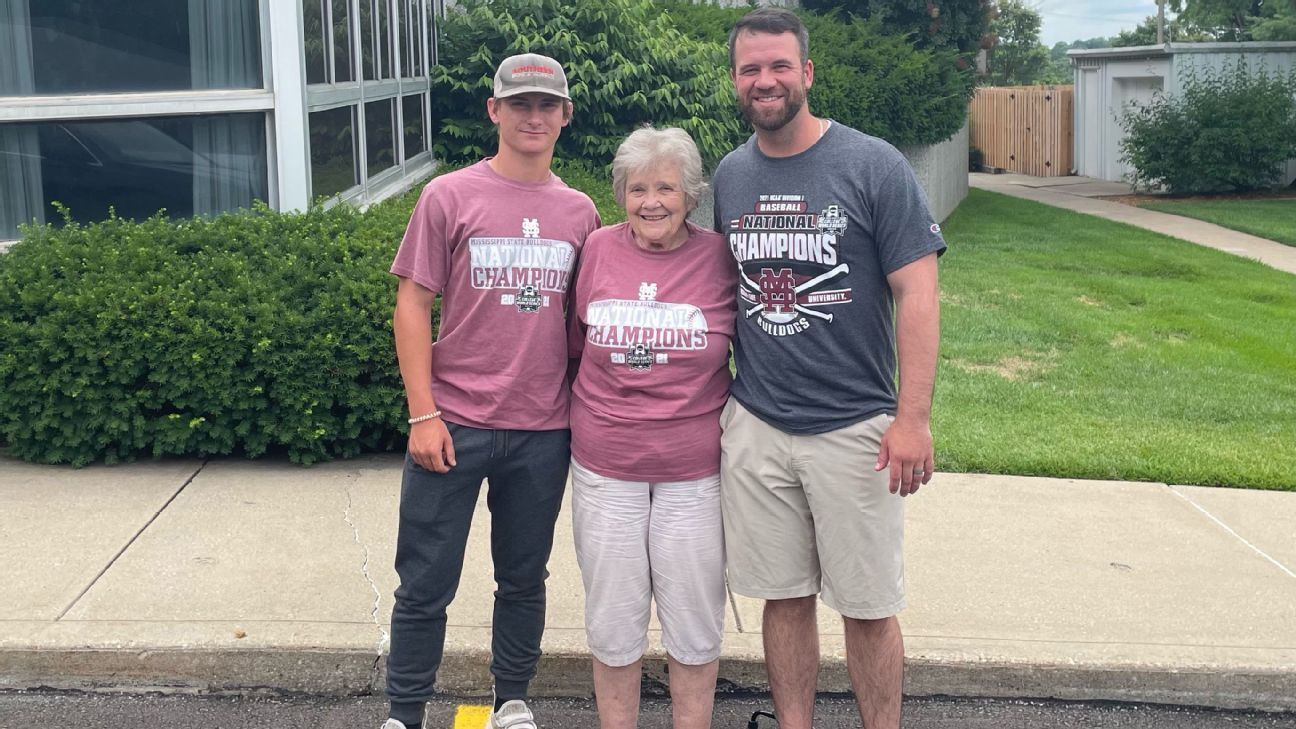 Mississippi State fan, 79, in her glory watching College World Series history
