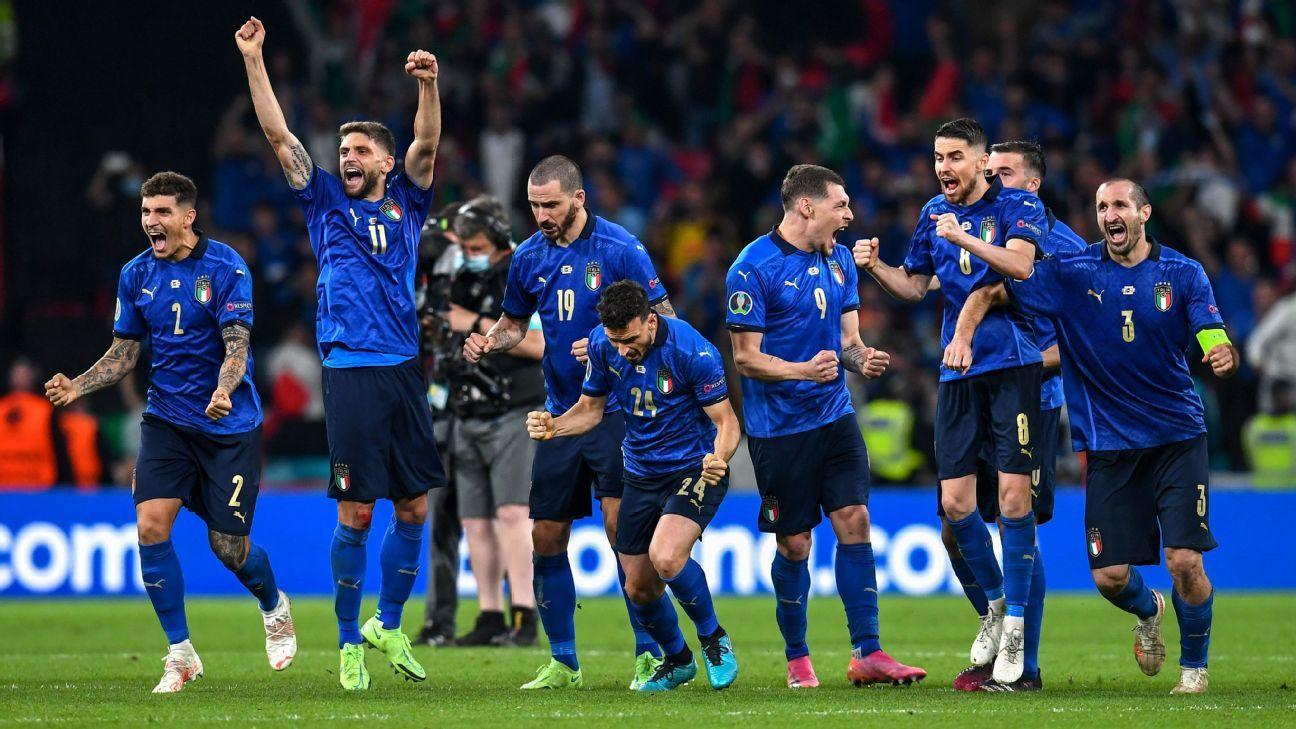 Italy vs. England - Football Match Report - July 11, 2021 - ESPN