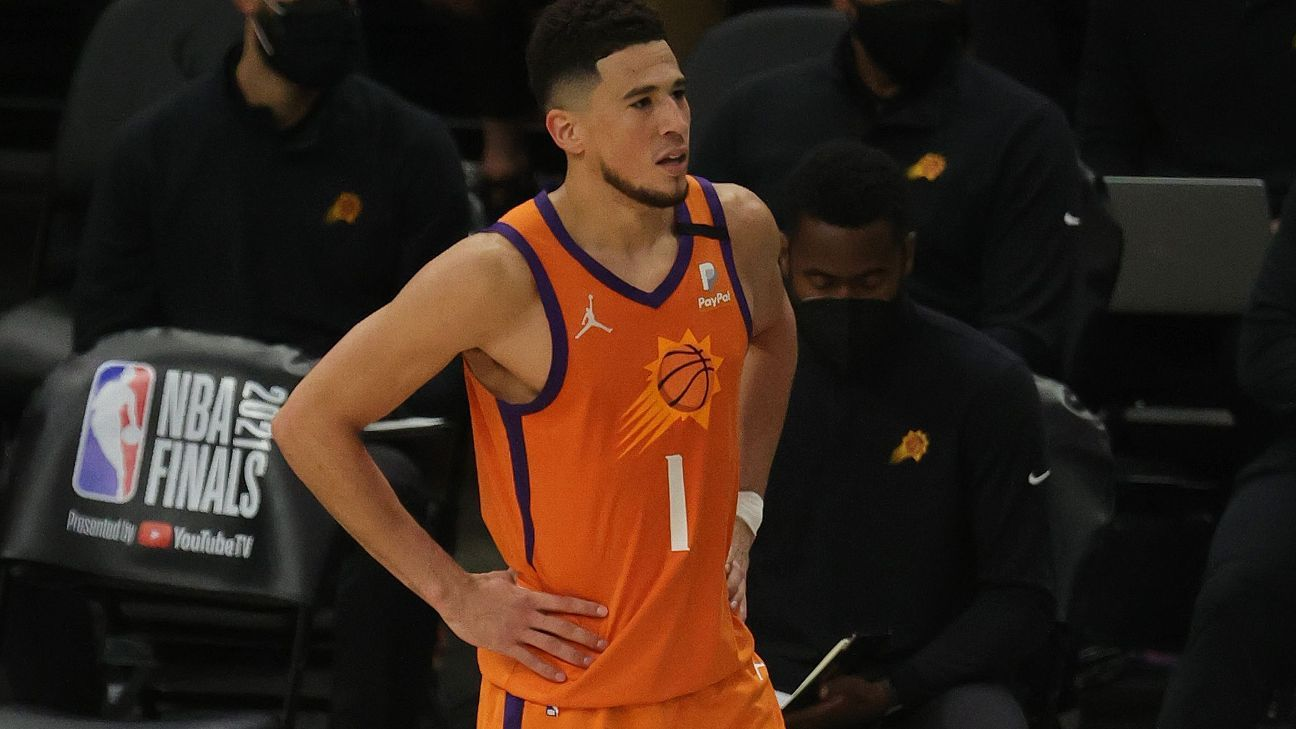 Booker to miss start of Suns camp for protocols