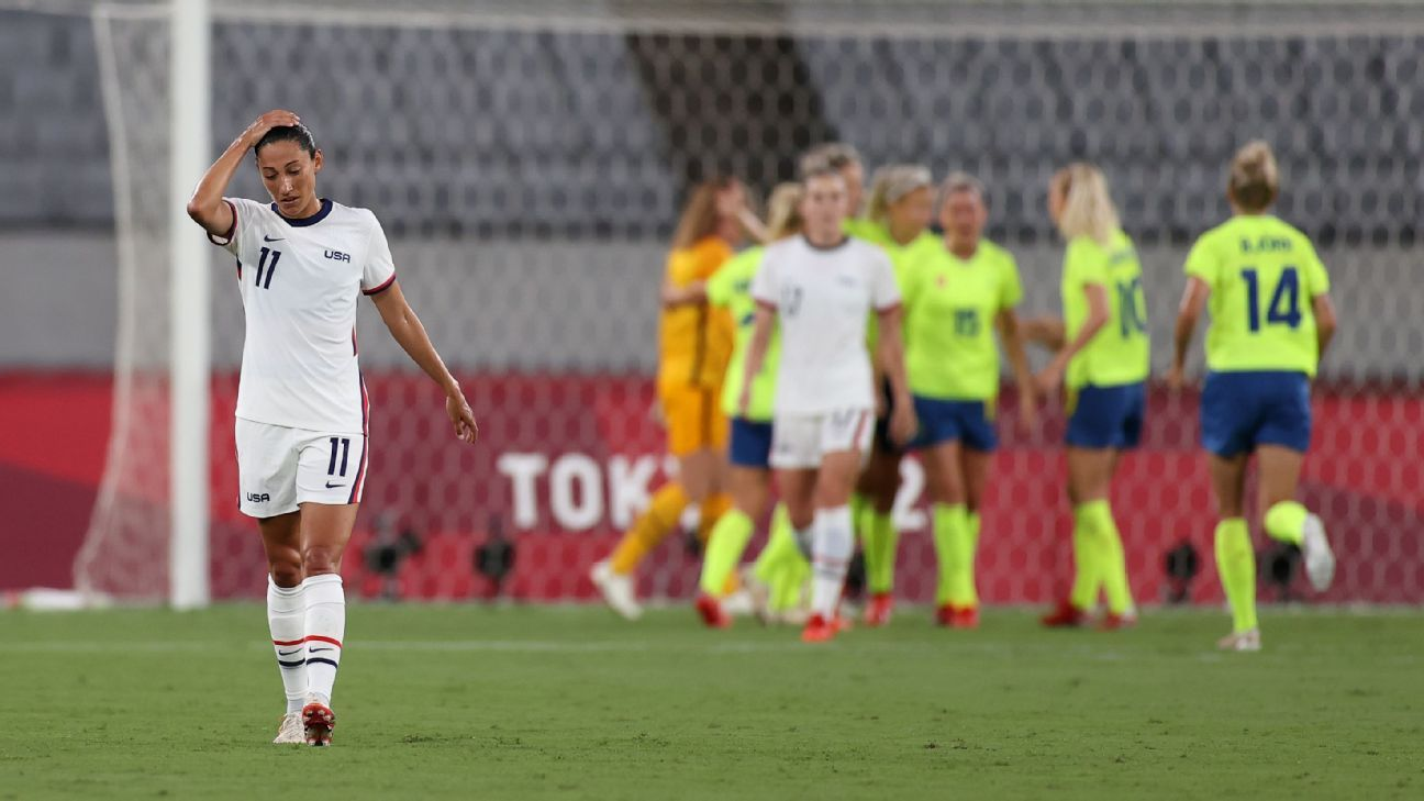 USWNT's Christen Press signs with NWSL club Angel City FC