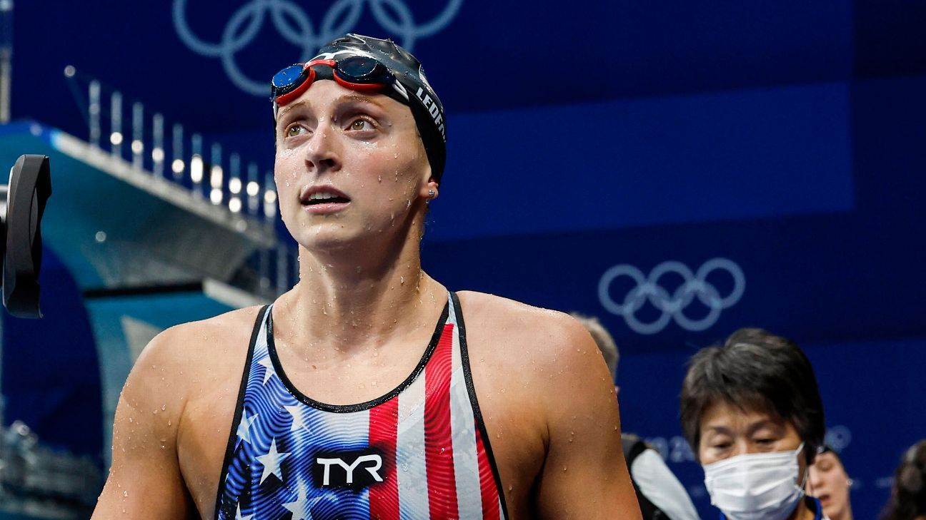 Olympics 2021 - What will Katie Ledecky's Olympic legacy be after 3 miles of racing in Tokyo? - ESPN.co.uk