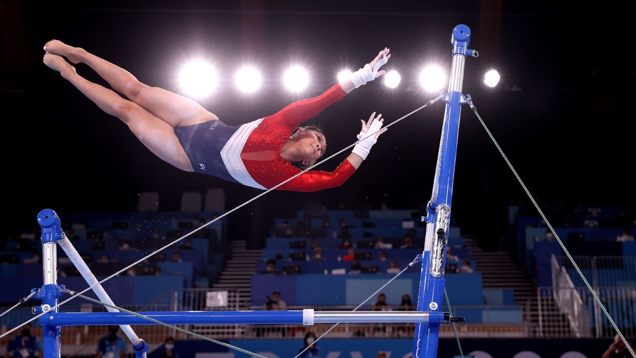 With no Simone Biles, who wins the Olympic all-around title?