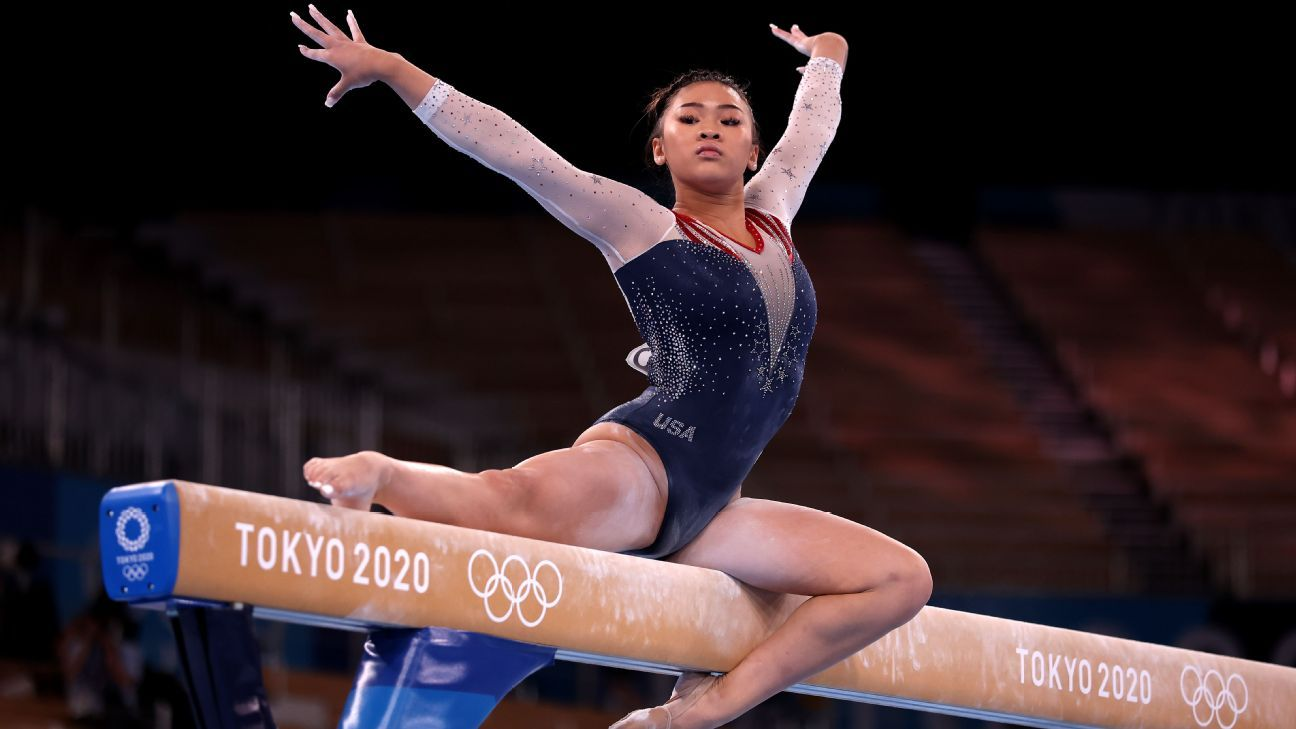 Suni Lee on Olympic gold medal -- 'It doesn't feel like real life'