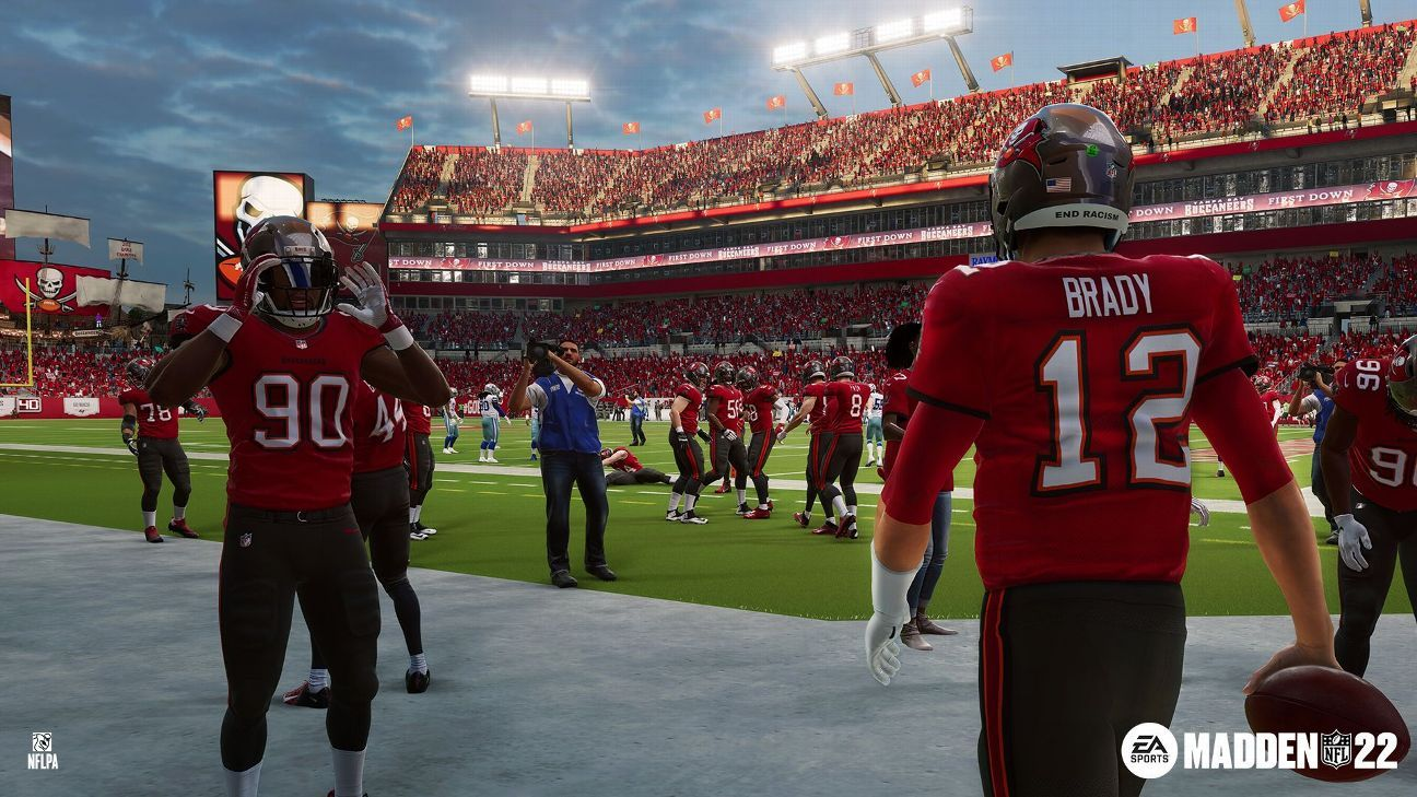 Madden NFL 22 ratings and rankings: Meet the top 10 quarterbacks, led by Mahomes and Brady