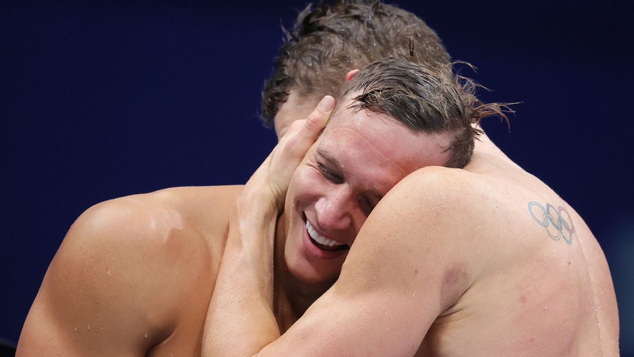 Dressel wins 2 more golds, closes Games with 5 thumbnail
