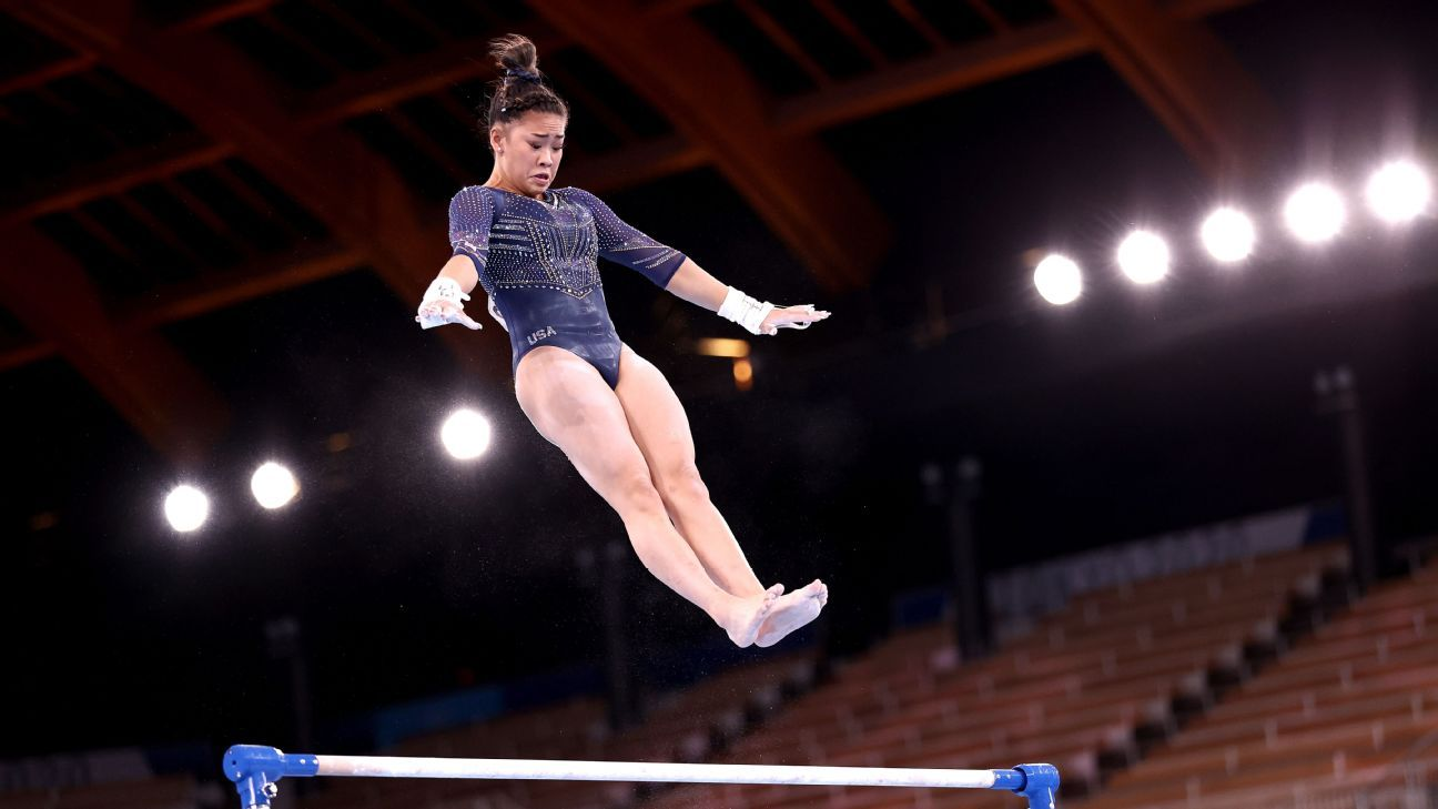 Olympic champ Lee adds bronze on uneven bars