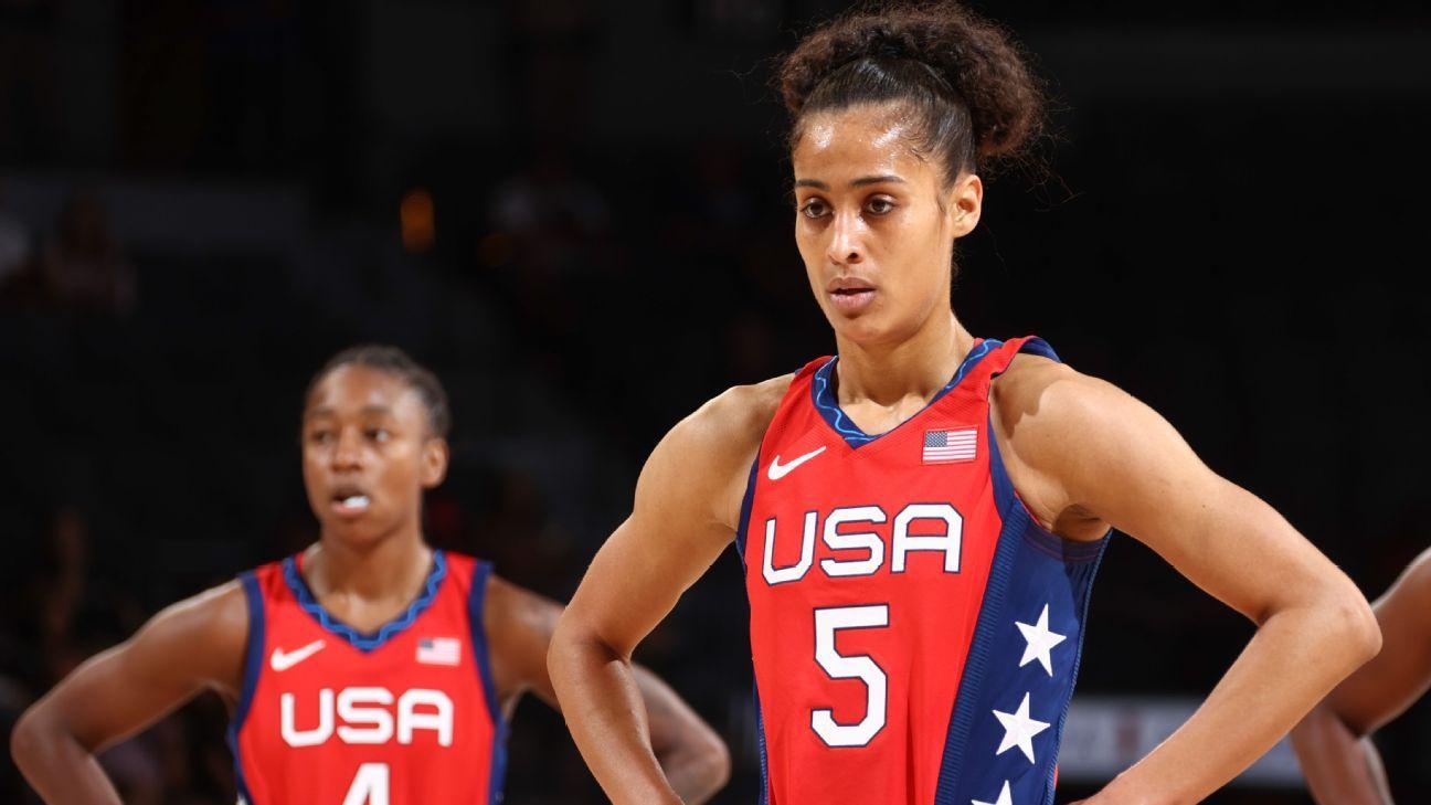 Olympics 2021 - Former Notre Dame stars Skylar Diggins-Smith, Jewell Loyd help fuel Team USA's backcourt