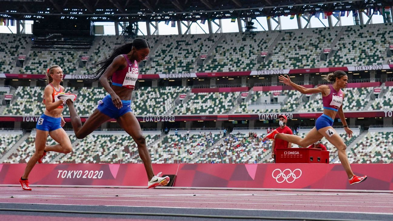Olympics 2021 - Sydney McLaughlin and Dalilah Muhammad's 400m hurdles duel lived up to the hype - ESPN