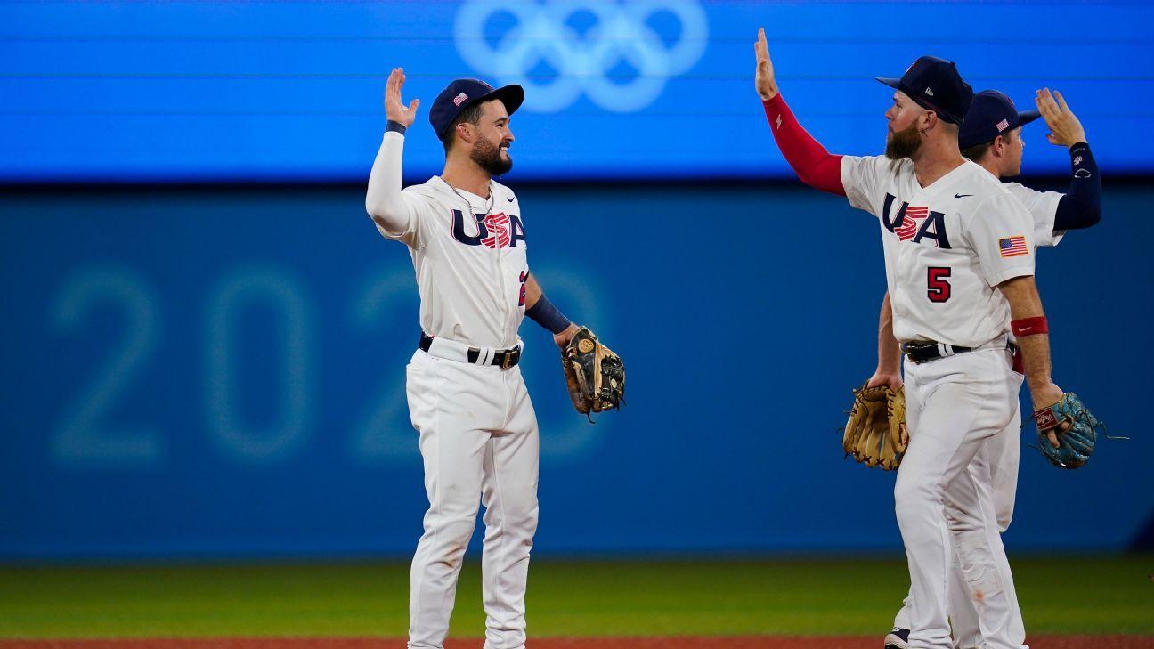 U.S. to face host Japan for baseball gold medal thumbnail
