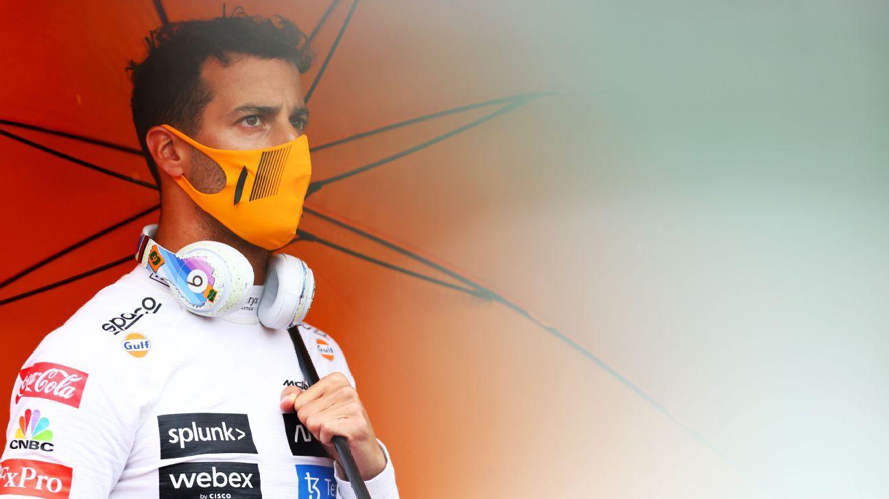 Why Daniel Ricciardo's not panicking about his slow start with McLaren - ESPN