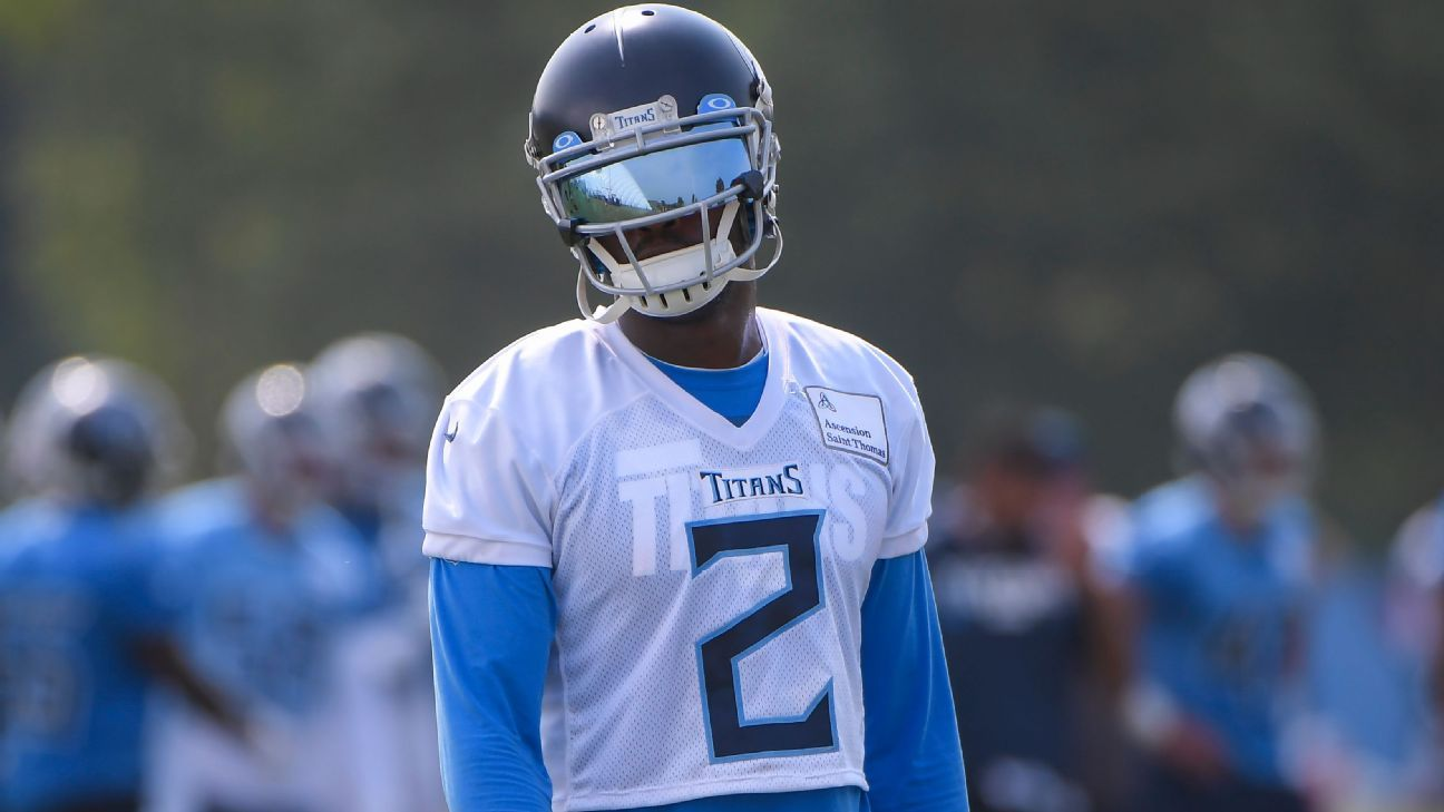 Tennessee Titans to be without Julio Jones; A.J. Brown expected to play vs. Jacksonville Jaguars