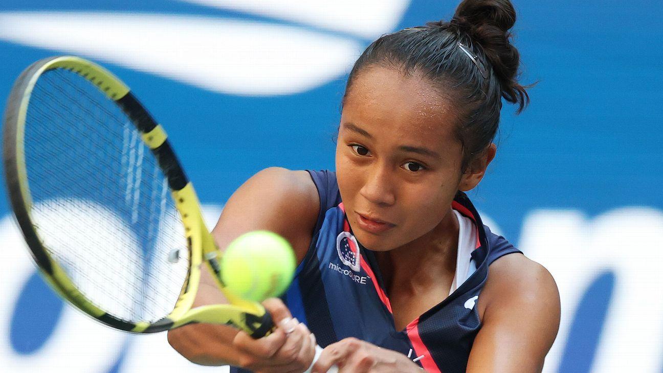 Leylah Fernandez, one day after turning 19, tops Elina Svitolina, advances to US Open semifinals