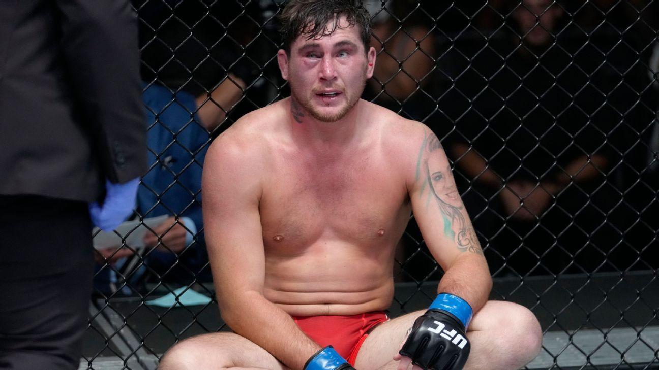 UFC's Darren Till fought Derek Brunson with torn ACL