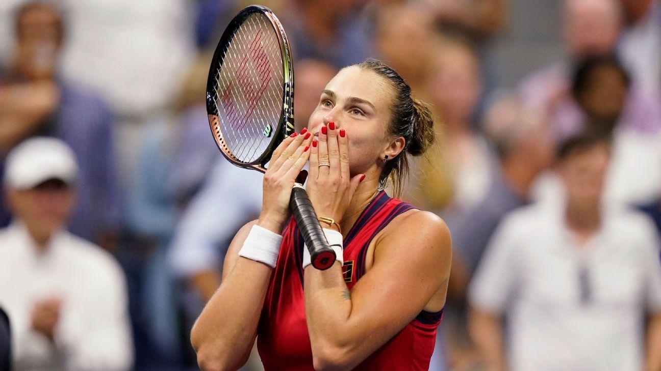 Aryna Sabalenka's newfound confidence has her on cusp of first Grand Slam singles title thumbnail