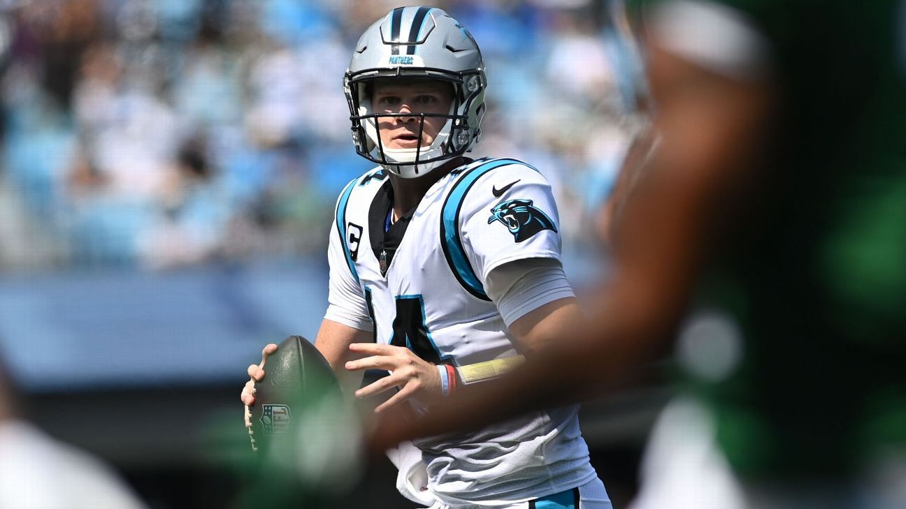 Darnold shows up Jets in leading Panthers to win