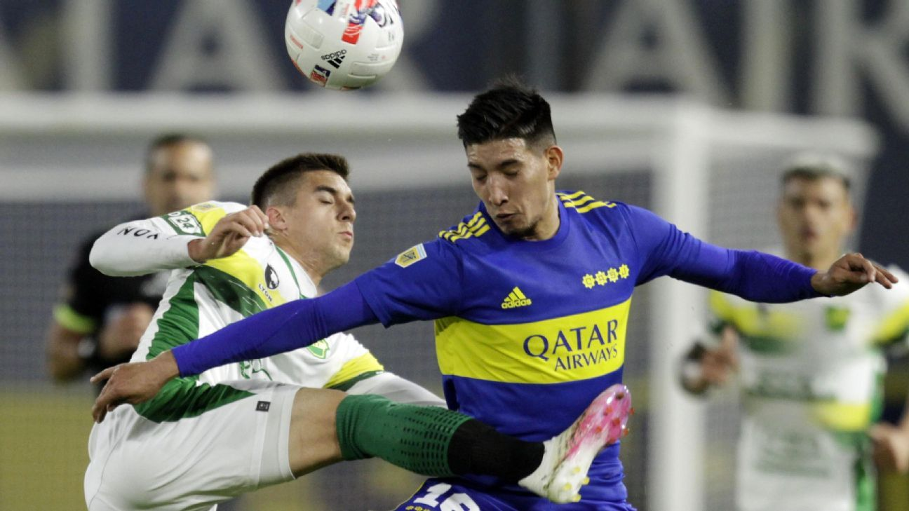Boca Juniors vs. Defensa y Justicia - Reporte del Partido - 14 septiembre, 2021 - ESPN