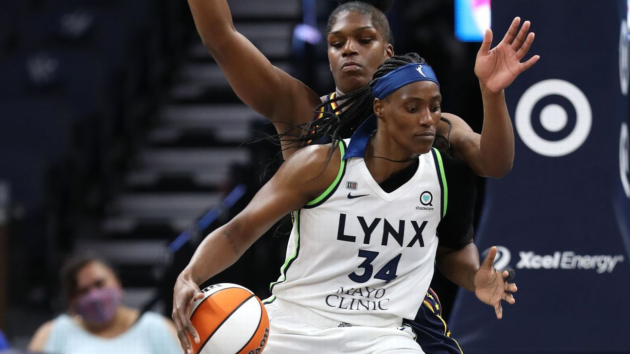 Minnesota Lynx star Sylvia Fowles named WNBA Defensive Player of Year for 4th time in career