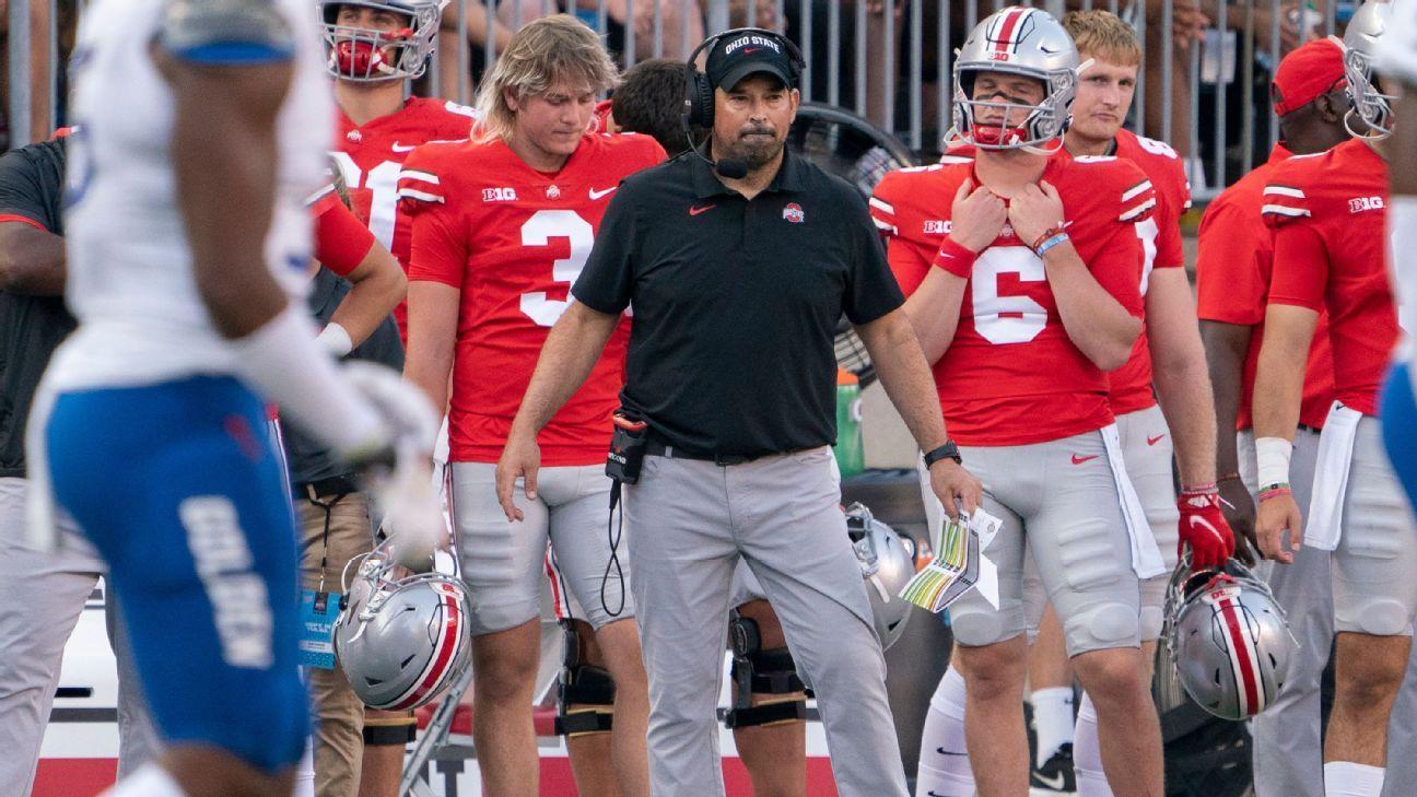 Ohio State's Ryan Day says Matt Barnes, not Kerry Coombs, called defensive plays vs. Tulsa