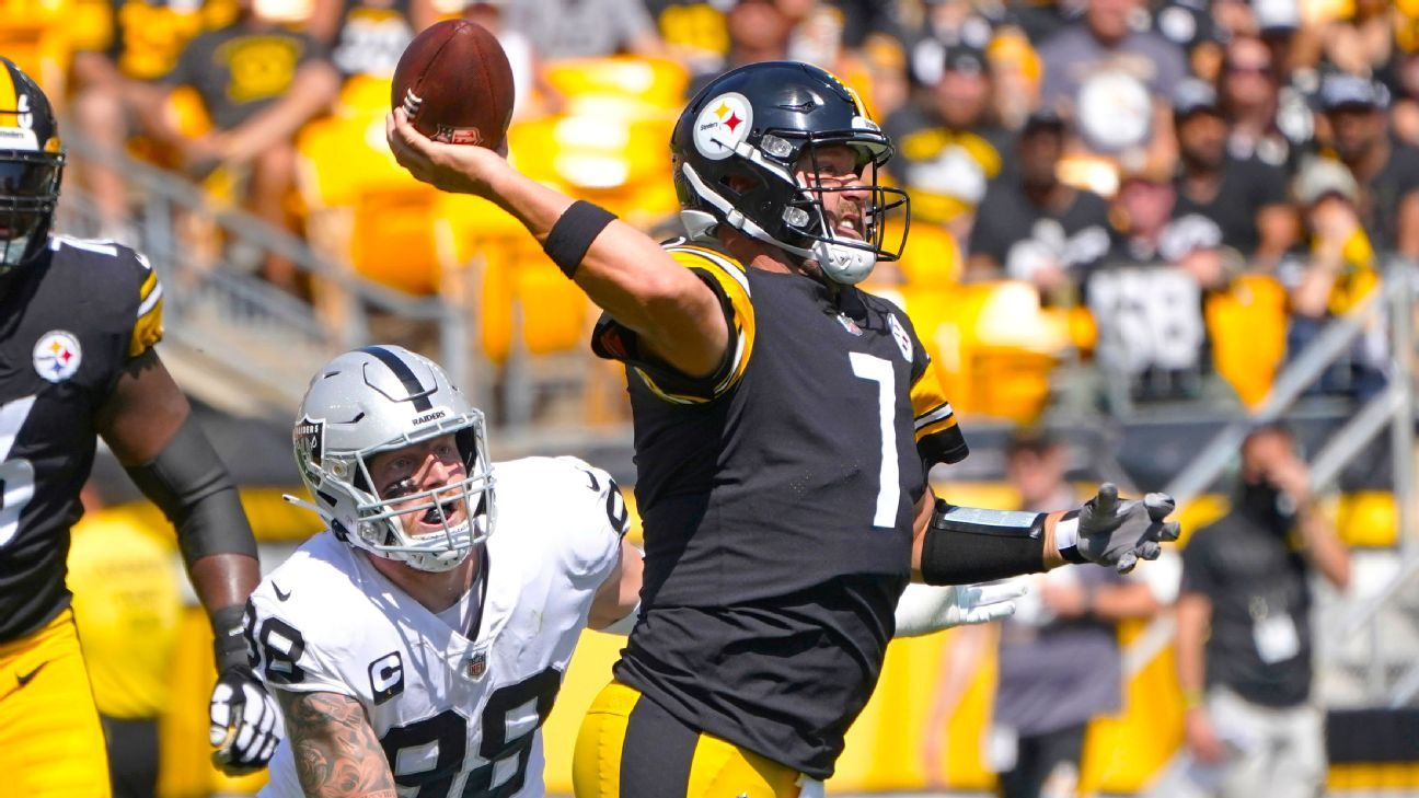 Pittsburgh Steelers QB Ben Roethlisberger to do 'everything he can' to play vs. Cincinnati Bengals