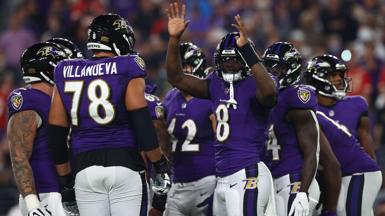Baltimore Ravens' Lamar Jackson on finally beating Kansas City Chiefs