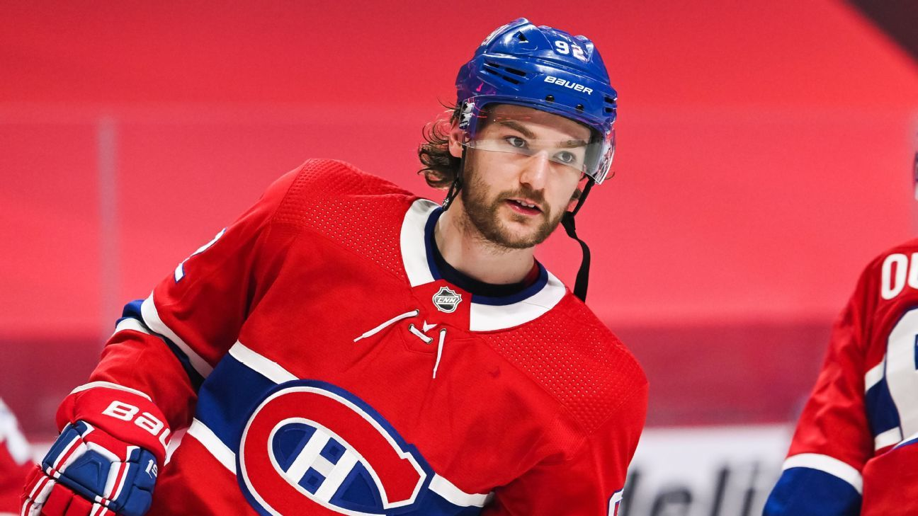 Habs' Drouin says absence was due to anxiety thumbnail