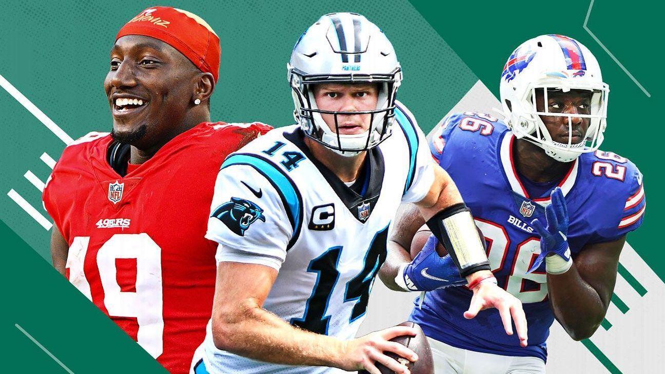 Los Power Rankings de la NFL al término de la Semana 2