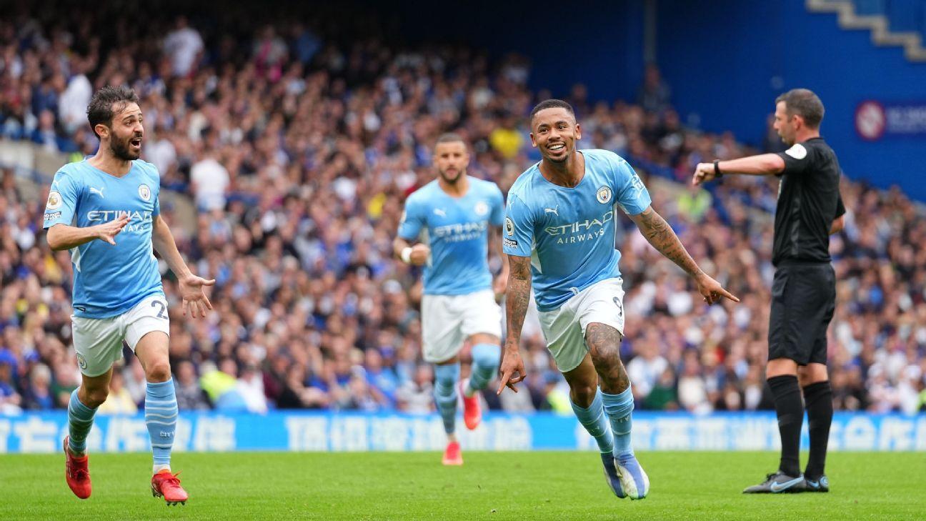 Jesus wins battle of strikers over Lukaku in key Man City win