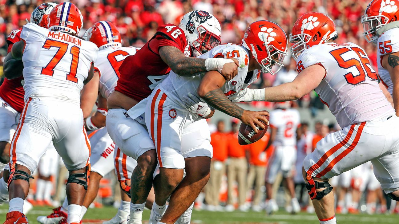 Clemson stunned by NC State: 'Got to own it'
