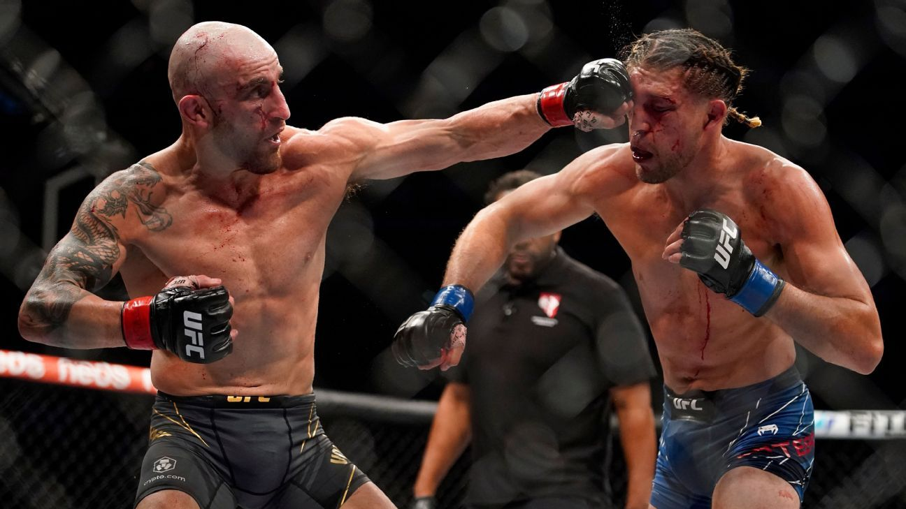 UFC 266 was everything fighting is supposed to be