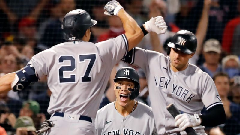 El secreto detrás del empuje de playoffs de los New York Yankees es... una nueva mascota