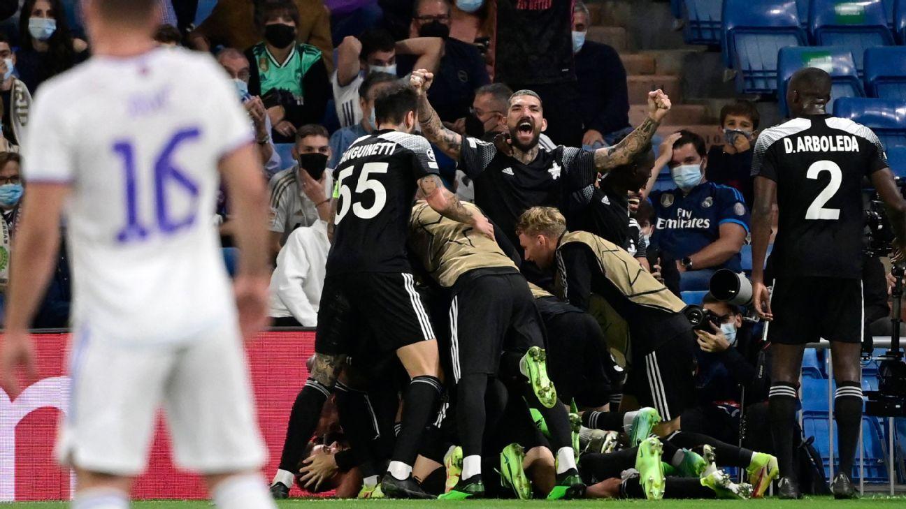 El triunfo del Sheriff Tiraspol sobre el Real Madrid se puede celebrar y lamentar al mismo tiempo