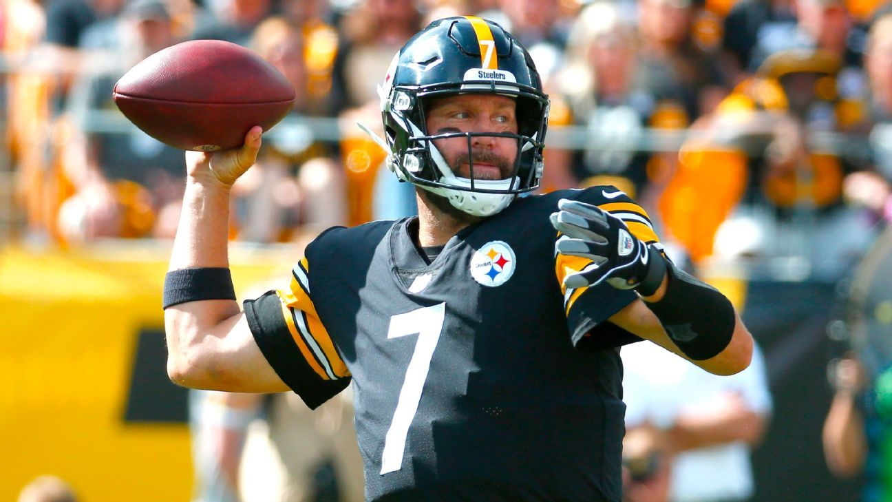 Ben Roethlisberger hits Diontae Johnson on long touchdown pass to get Pittsburgh Steelers started
