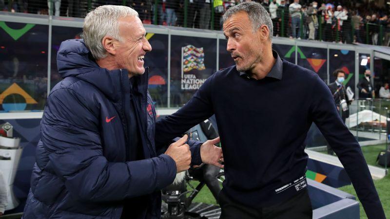 Deschamps, Luis Enrique, Mancini y Martínez son entrenadores de primera, pero los clubes de elite siguen ignorando a los técnicos internacionales