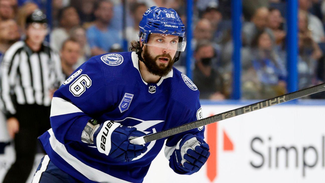 Fantasy hockey waiver watch: Options to replace Nikita Kucherov