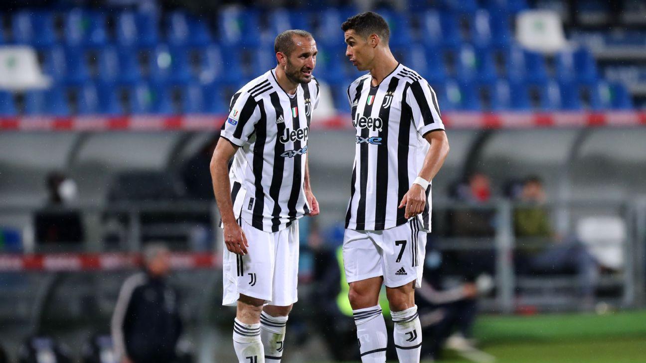 Giorgio Chiellini: Cristiano Ronaldo's late Juventus departure affected team - ESPN