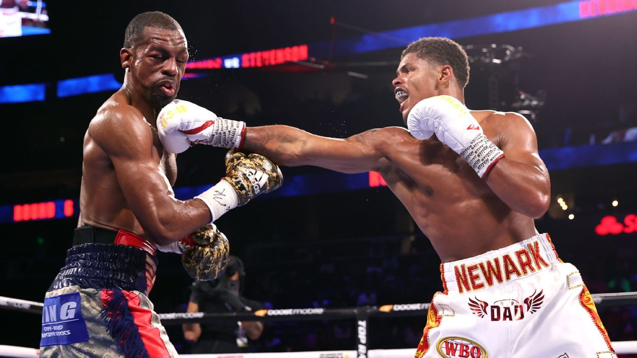 Shakur Stevenson dominates Jamel Herring, captures WBO title via 10th-round TKO