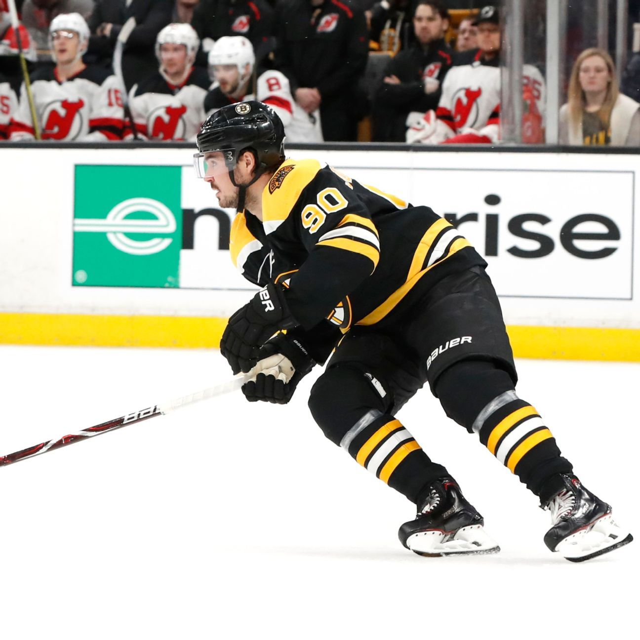 Bruins' Johansson Sidelined With Lung Contusion