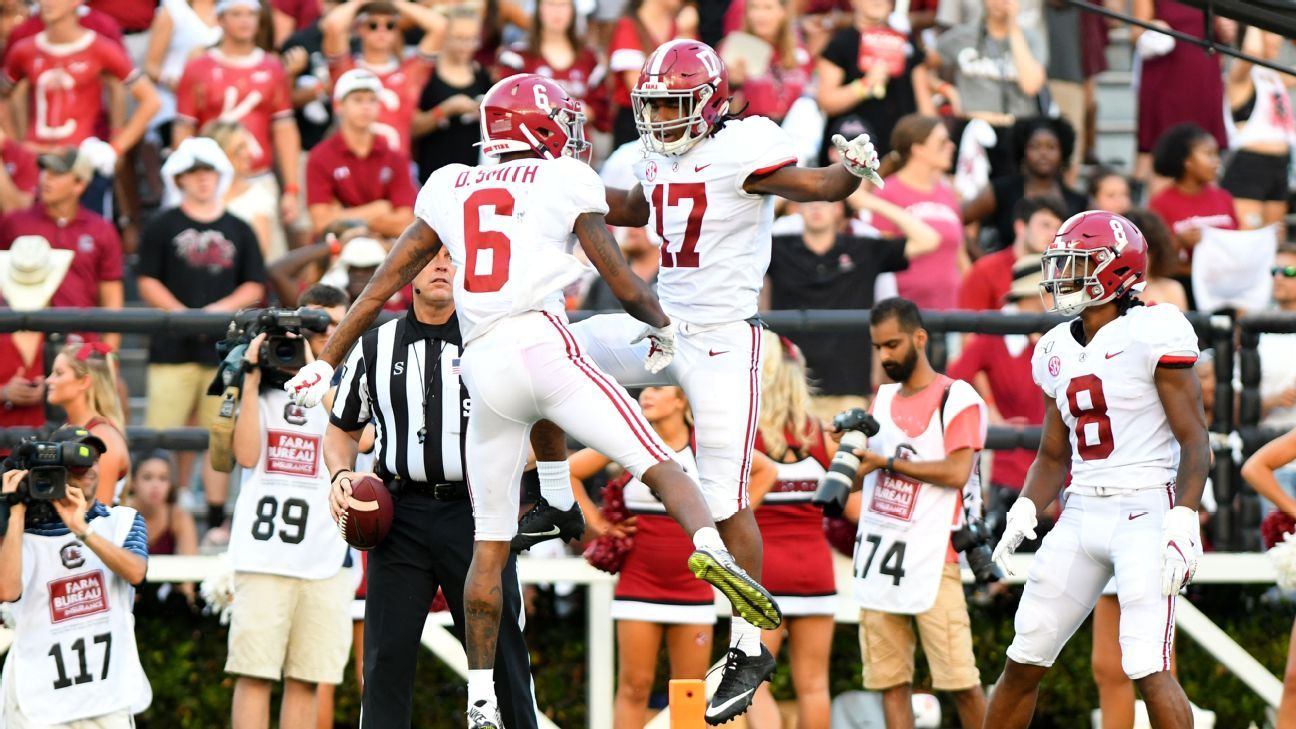 Why wide receivers take over the NFL draft