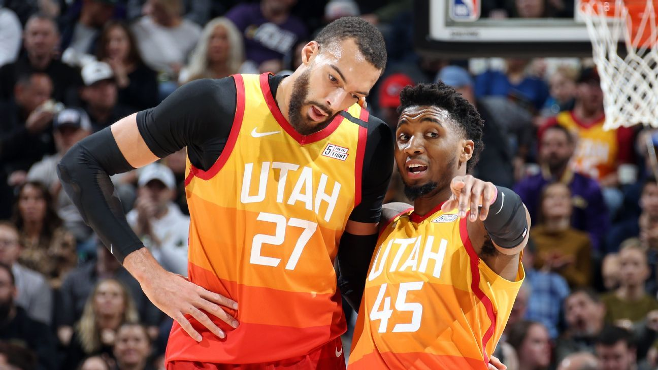 Photo of Jazz's Donovan Mitchell says rapport with Rudy Gobert has improved