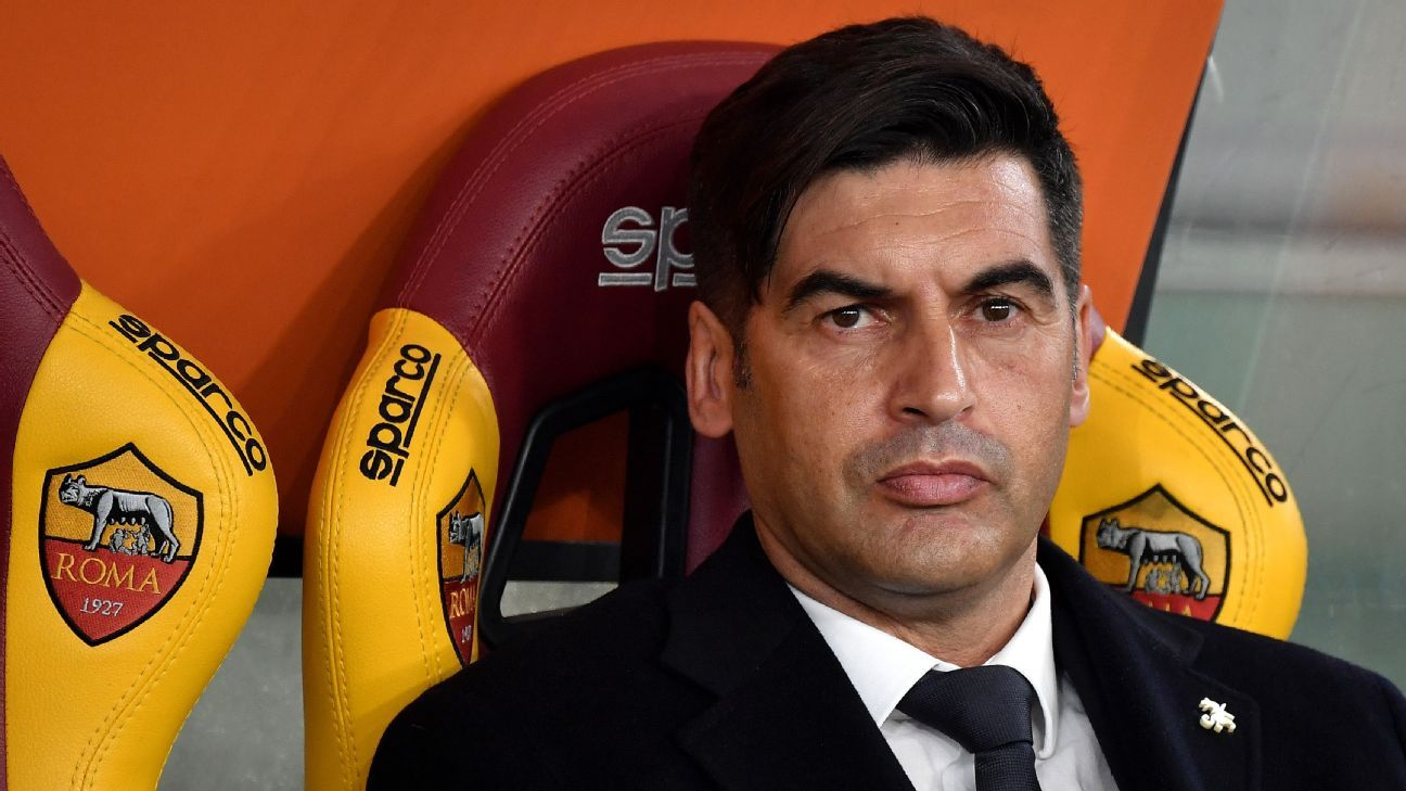 Roma's Fonseca talks Man United and how the Super League almost 'killed' football